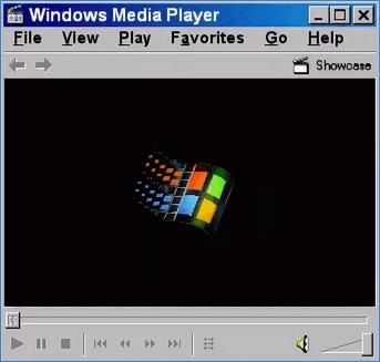 Интерфейс проигрывателя Windows Media Player 6.4