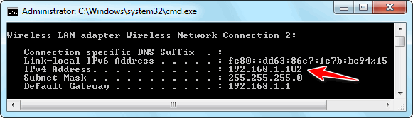 Ipconfig VLC Media Player