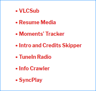 Лучшие расширения для VLC Media Player