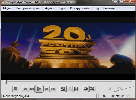 Потоковая передача VLC Media Player