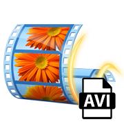 Сохранение видео в формате AVI в Windows Movie Maker