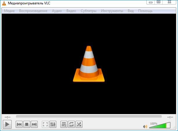 Стандартное оформление VLC