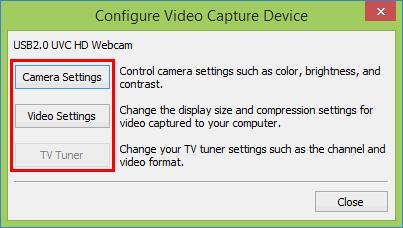 Управление свойствами видеокамеры и видеопроцессора в Windows Movie Maker