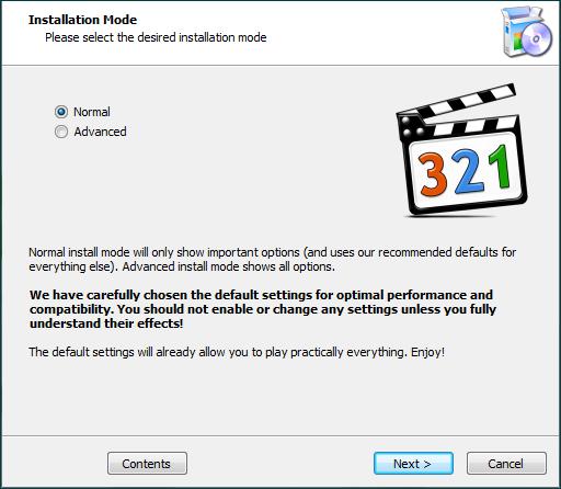Установка кодеков для запуска программы