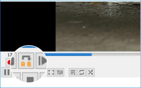Зацикливание части видео в VLC Media Player