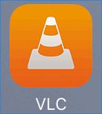 Значок приложения VLC for iOS